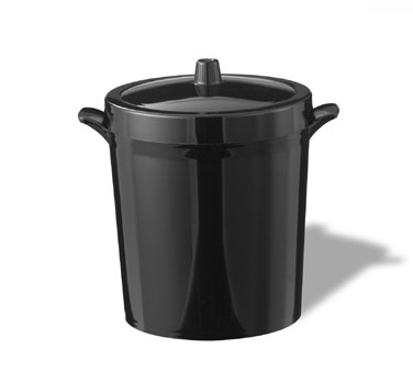 Service Ideas IB3BL Black Insulated Ice Bucket, 3 Liter