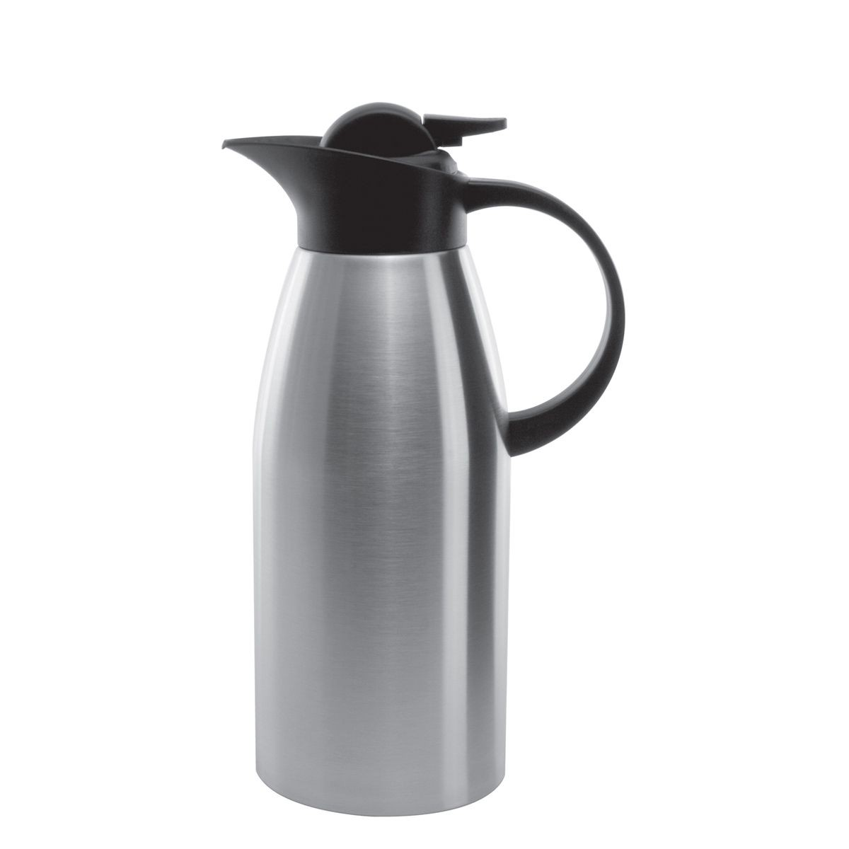 Service Ideas KVP1900 Brushed Stainless Touch Coffee Server, 1.9 Liter