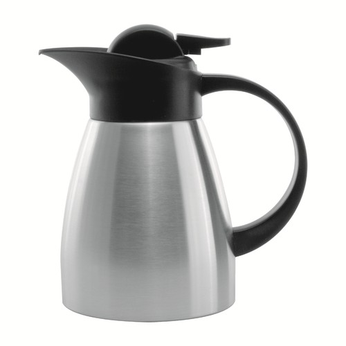 Service Ideas KVP67 Brushed Stainless Touch Coffee Server, 0.6 Liter