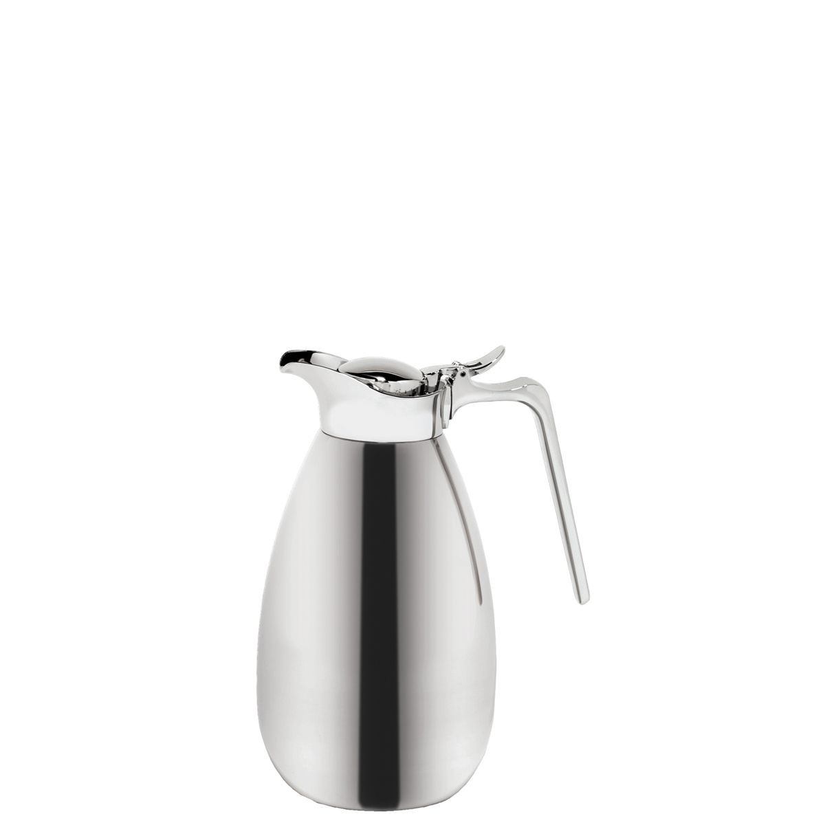 Service Ideas MEVC1000 Elite Touch Polished Stainless Steel Server, 1 Liter