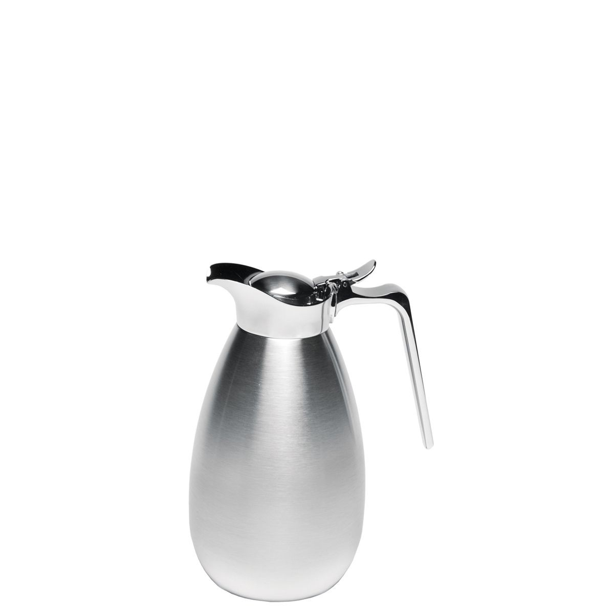 Service Ideas MEVC1000S Elite Touch Brushed Stainless Steel Server, 1 Liter