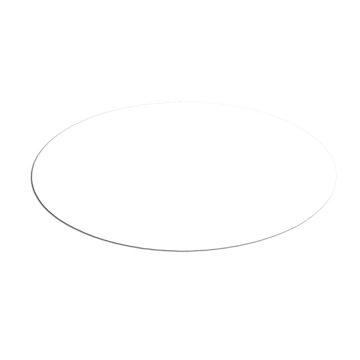 Service Ideas MFTB Oval Magnetic Flavor Tag, Blank