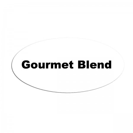 Service Ideas MFTGB Oval Magnetic Flavor Tag, Gourmet Blend