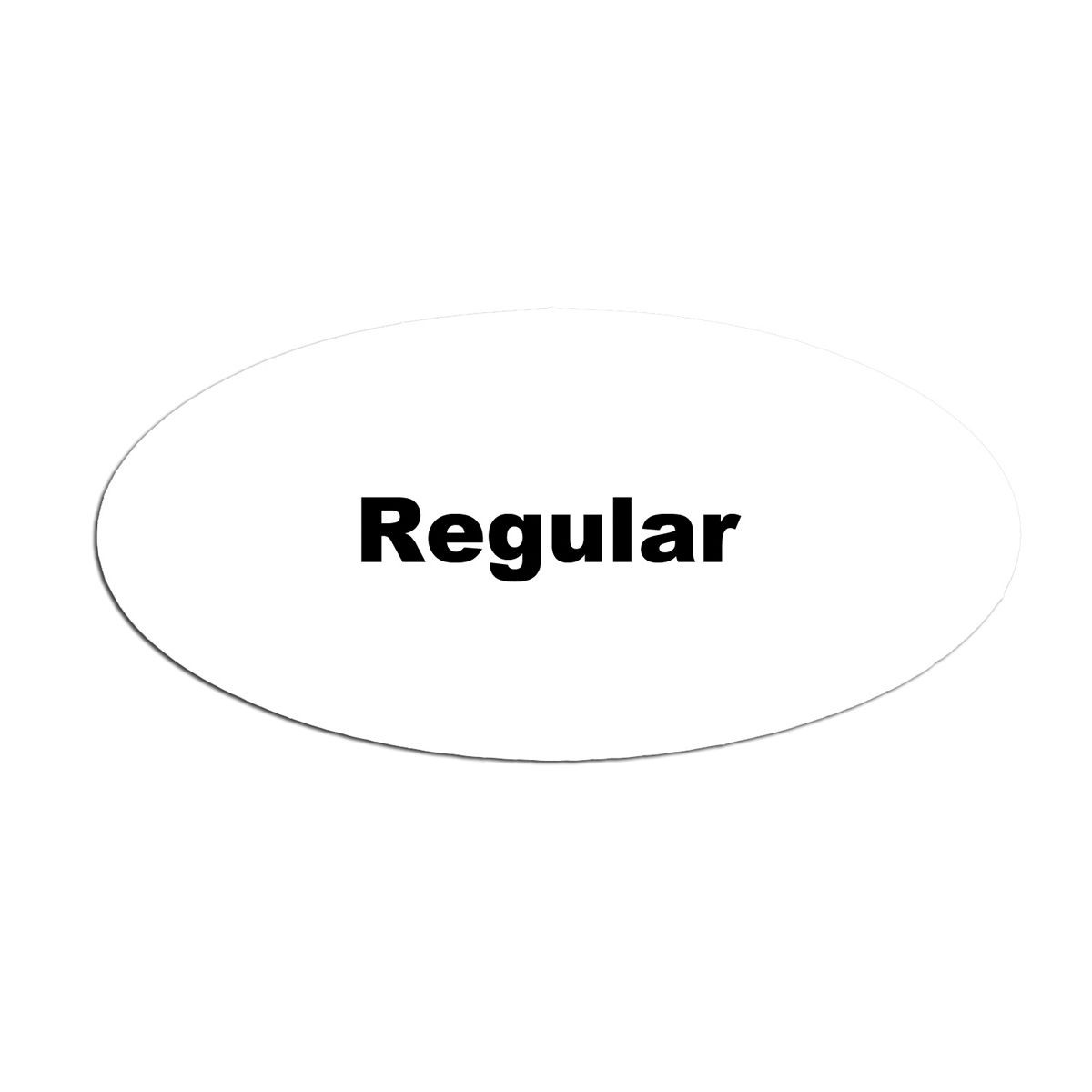 Service Ideas MFTREG Oval Magnetic Flavor Tag, Regular