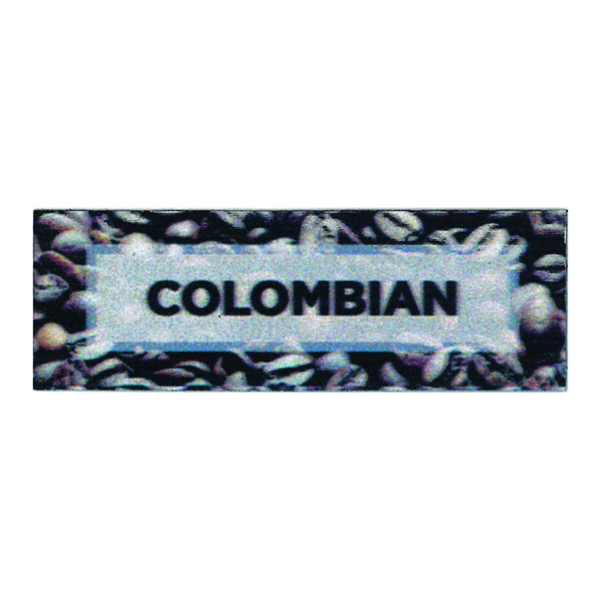 "Service Ideas MTCB1CO Columbian ID Magnet Tag, 3"" x 1"""