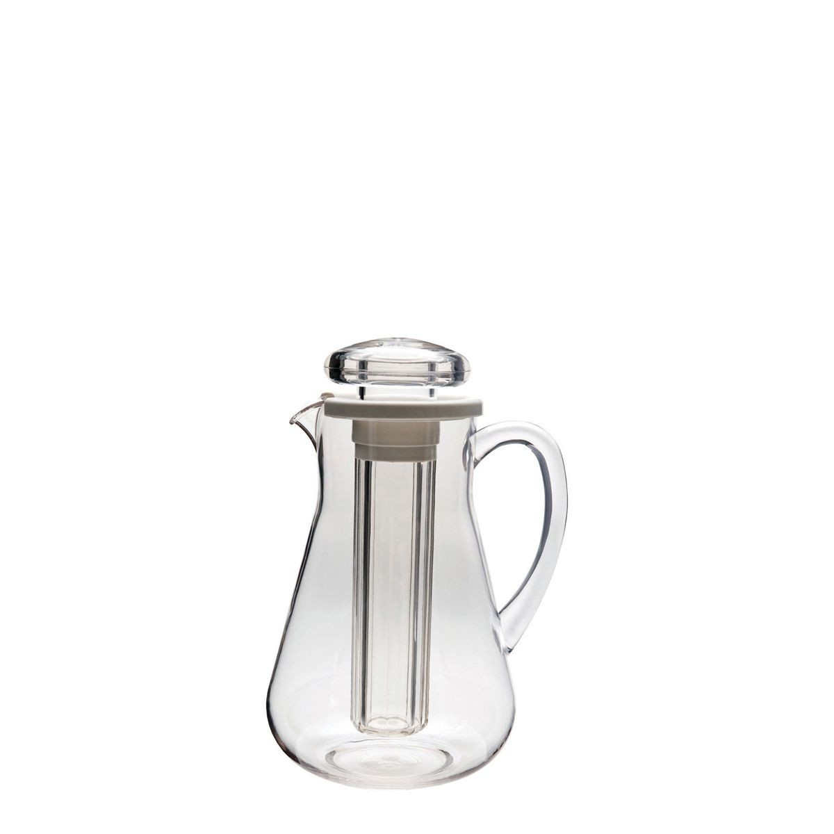 Service Ideas MWP19SB Ice Tube Pitcher, 64.2 oz.