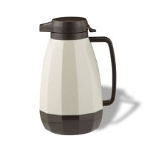 Service Ideas NG101ST New Generation Stoneware Brown Coffee Server, 1 Liter
