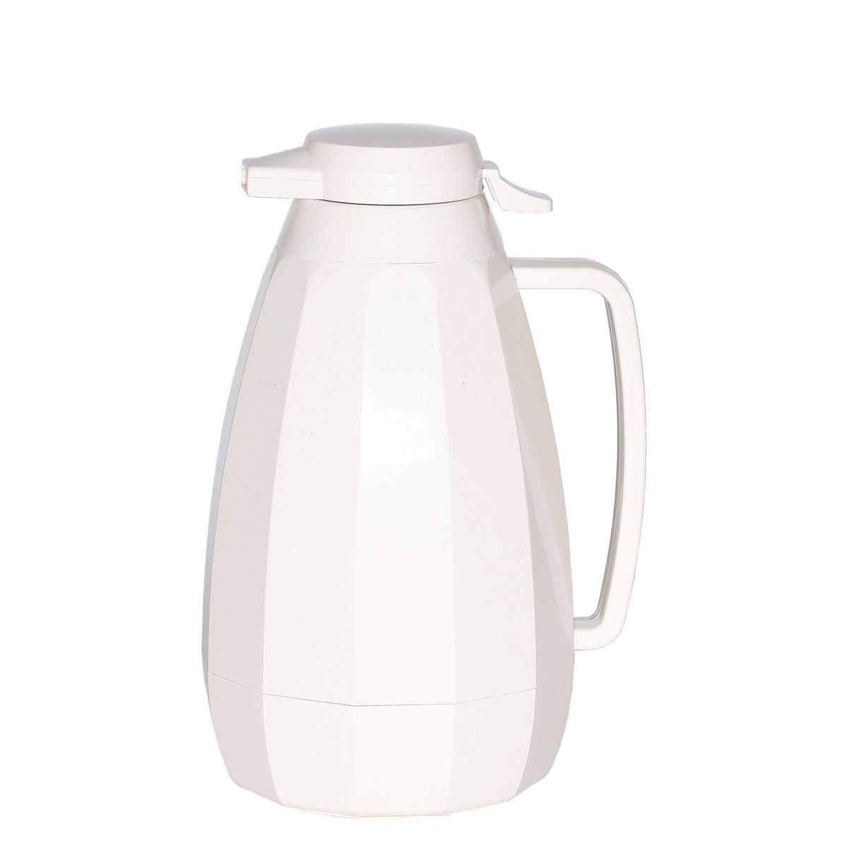 Service Ideas NG421WH White New Generation Coffee Server, 2 Liter  (68 oz.)