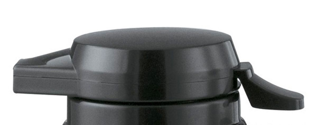 Service Ideas NGLWBL New Generation Black Welded Push Button Lid