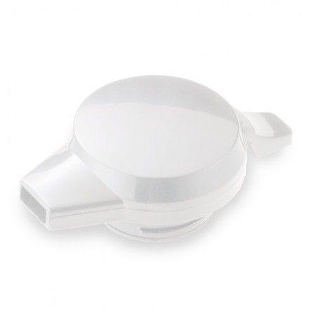 Service Ideas NGLWWH Welded Push Button Server Lid, White