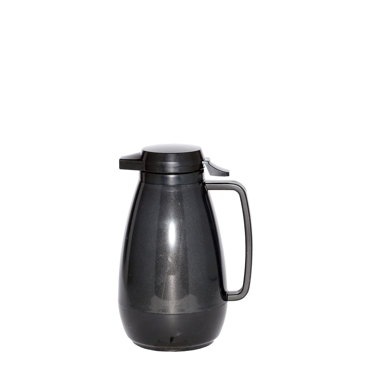 Service Ideas PB101BL Thermo-Serv Black Push Button Coffee Server, 1 Liter (34 oz.)