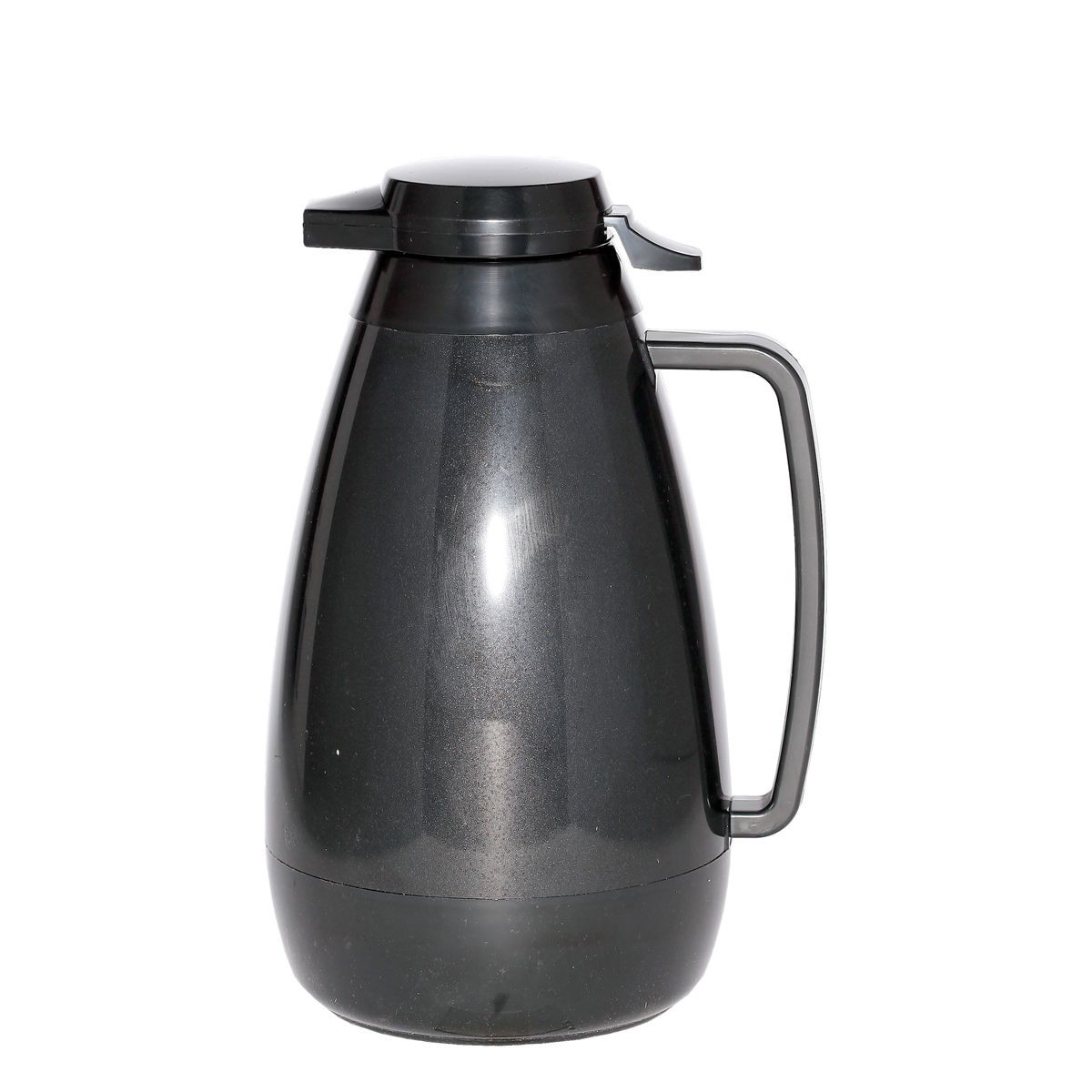 Service Ideas PB421BL Thermo-Serv Black Push Button Coffee Server, 2 Liter (68 oz.)