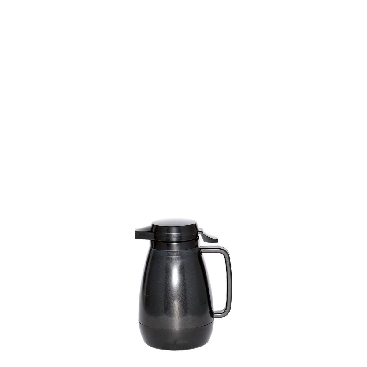 Service Ideas PB501BL Thermo-Serv Black Push Button Coffee Server, .6 Liter (20 oz.)