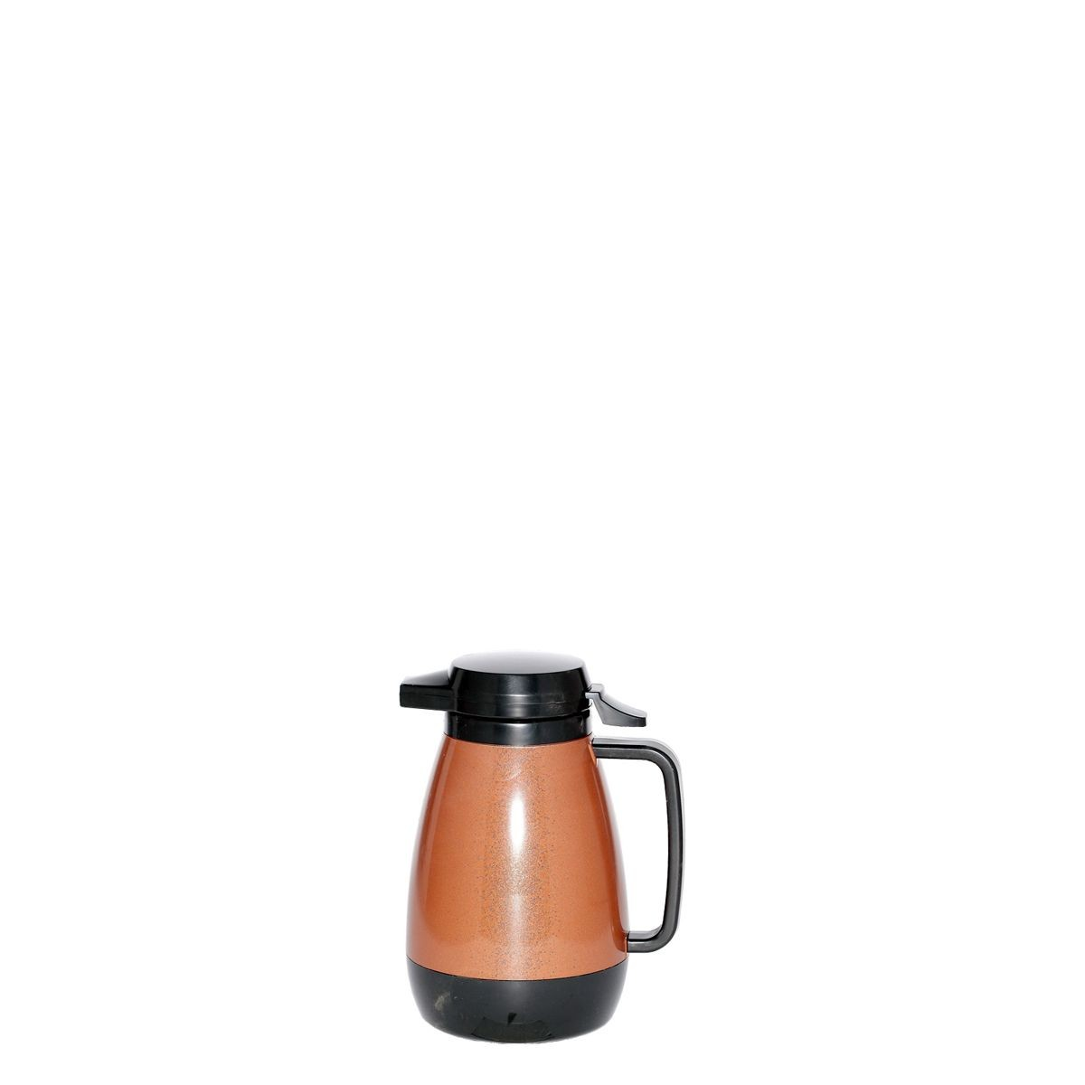 Service Ideas PB501CB Thermo-Serv Copper and Black Push Button Coffee Server, .6 Liter (20 oz.)