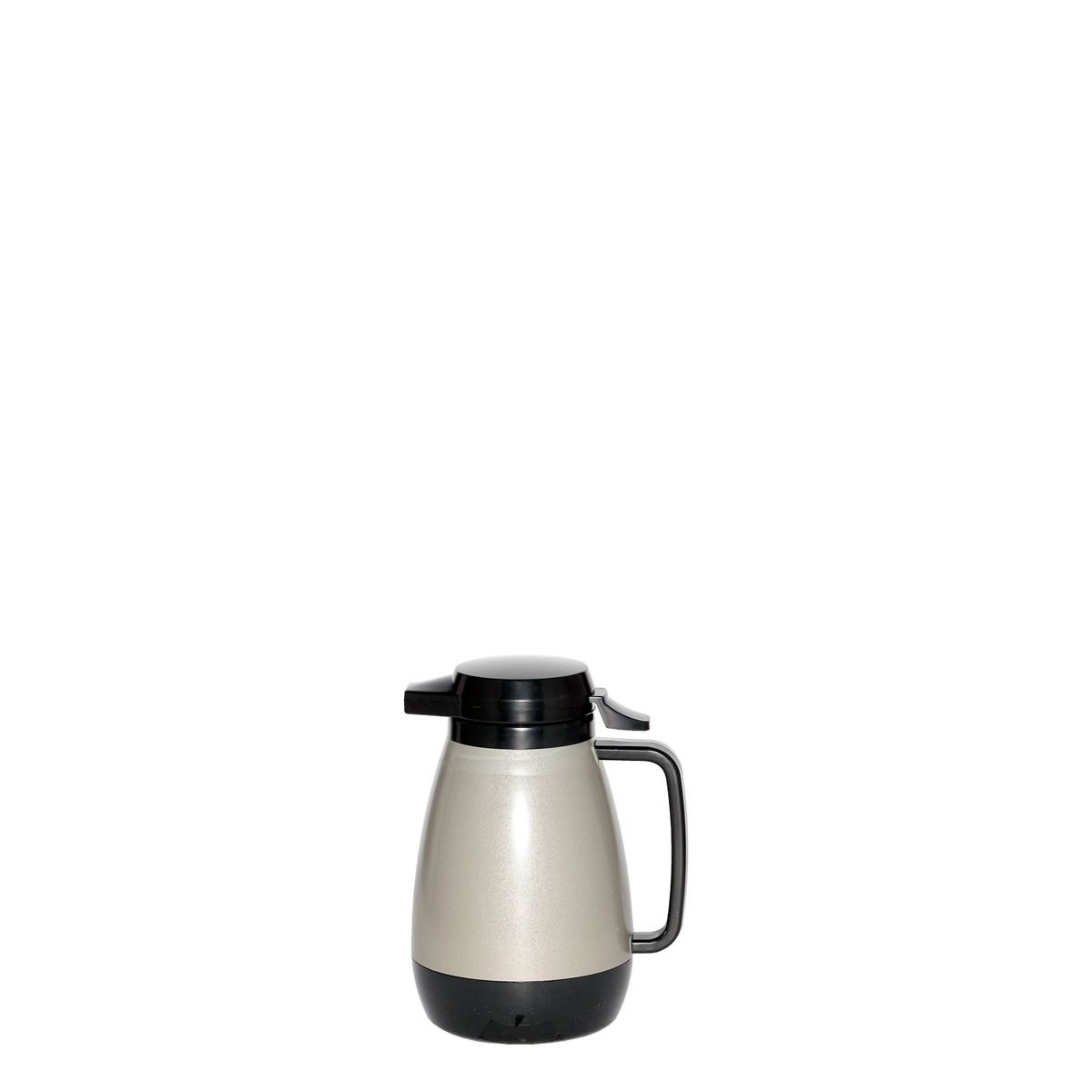 Service Ideas PB501MG Thermo-Serv Metallic Grey Push Button Coffee Server, .6 Liter (20 oz.)