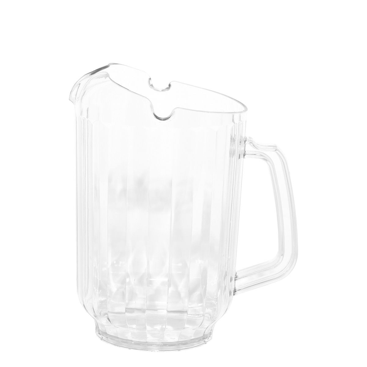 Service Ideas PCP60 3-Way Pour Pitcher, Clear 1.7 Liter ( 60 oz.)