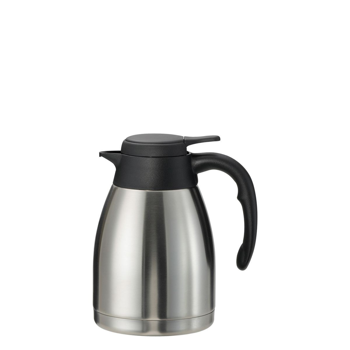 Service Ideas PWLA121 Steelvac Brushed Stainless Server, 1.2 Liter (40.6 oz.)