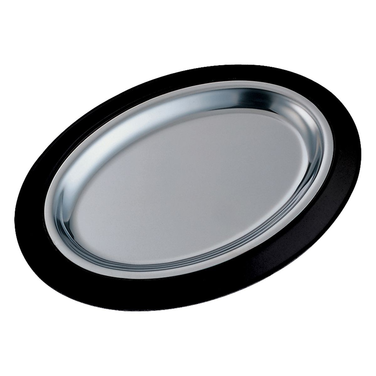 Service Ideas RO128BLC Thermo-Plate Oval Sizzle Platter Set