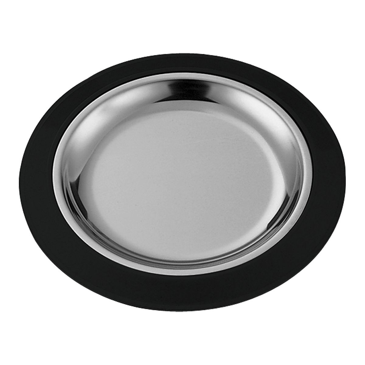 Service Ideas RT1025BLC Thermo-Plate Round Sizzle Platter Set 10.25""