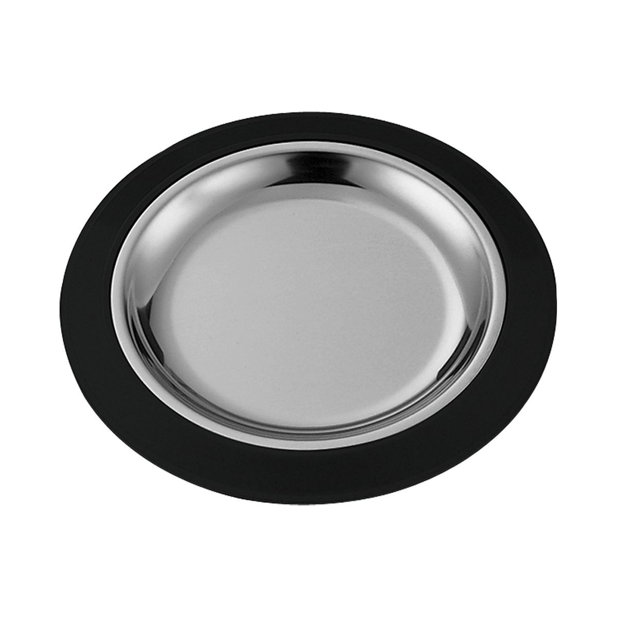 Service Ideas RT10BLC Thermo-Plate Large Round Sizzle Platter Set 10""