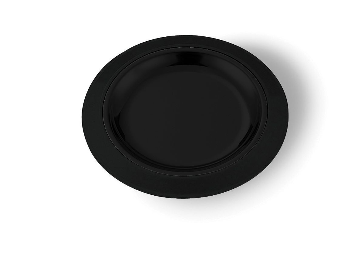 "Service Ideas RT701BL 7"" Thermo-Plate Round Platter Base Only for RT7SS"