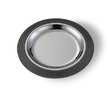 "Service Ideas RT7BL 7"" Thermo-Plate Platter Round Base Only for RT7SS"