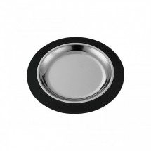 Service Ideas RT7BLC Thermo-Plate Small Round Sizzle Platter Set , 7""