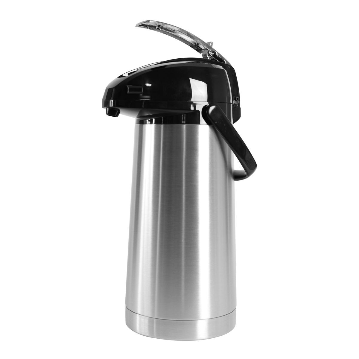 Service Ideas SAL30 Stainless Steel Airpot with Lever, 3 Liter