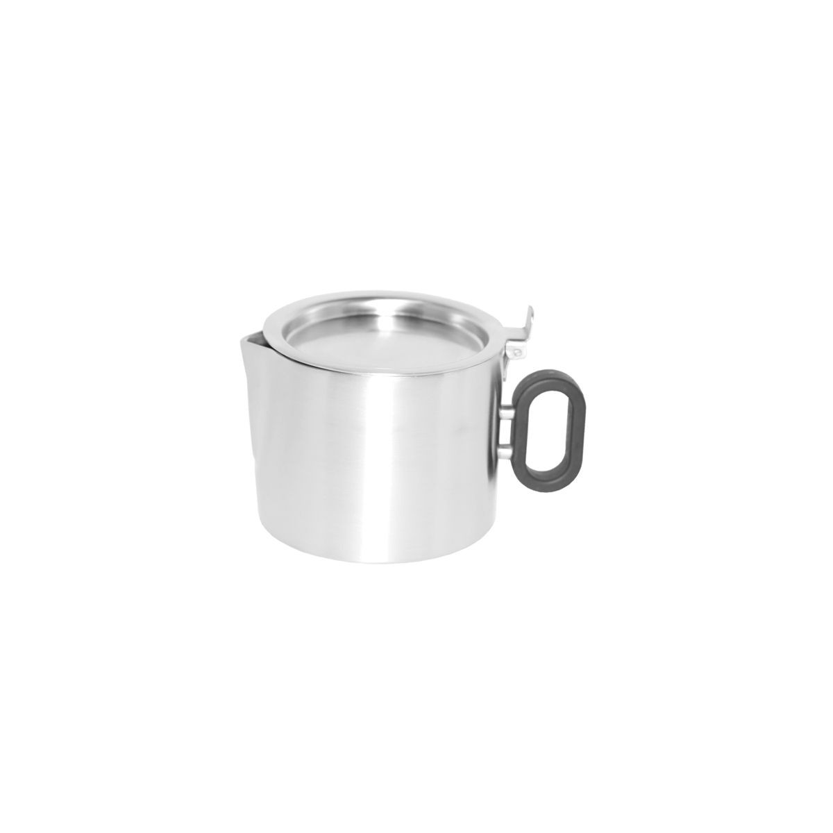 Service Ideas SB-20 SteelForme Double Wall Brushed Stainless Steel Tea Pot, 0.4 Liter