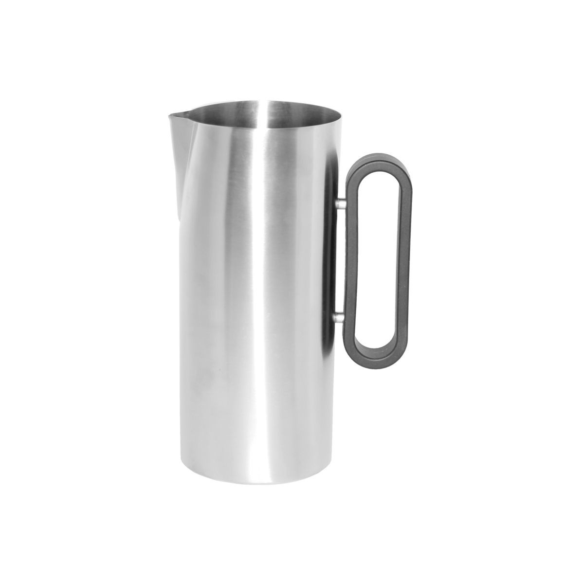 Service Ideas SB-24 SteelForme Water Pitcher with Silicone Handle, 64 oz.