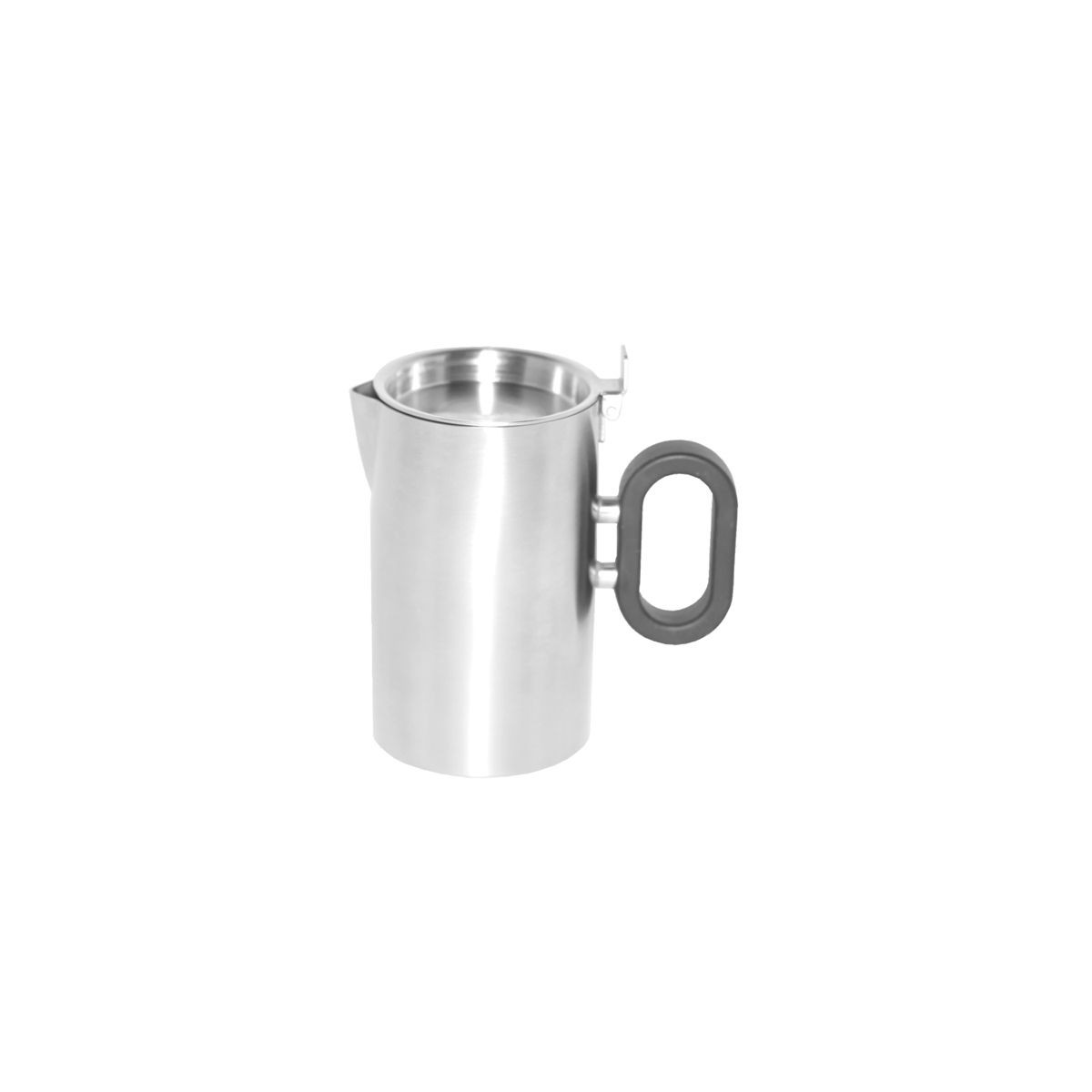 Service Ideas SB-26 SteelForme Creamer with Lid, 9 oz.
