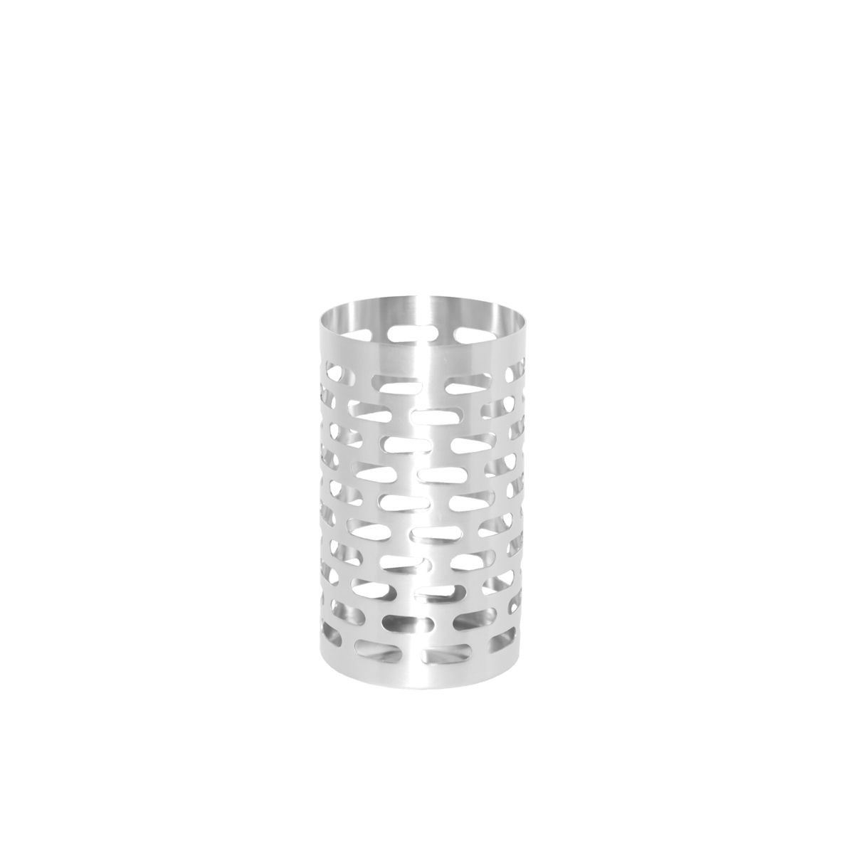 "Service Ideas SB-70 SteelForme Bread Stick Holder, 3-1/2"" Dia. X 6""H,"