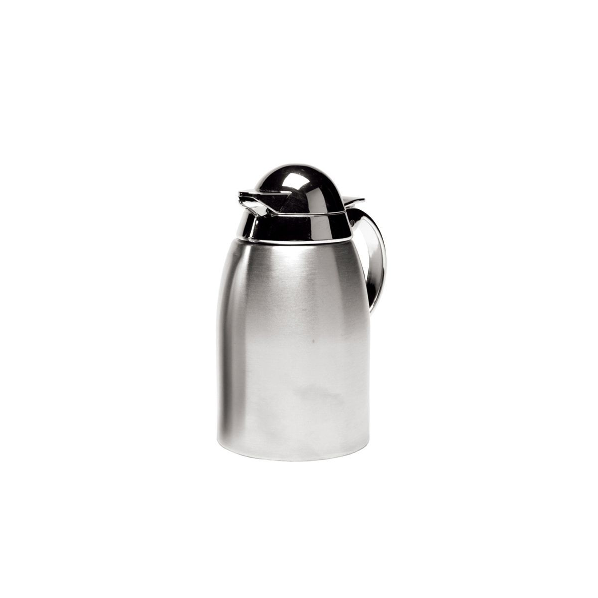 Service Ideas SC85 Stainless Creamer Dispenser with Chrome-Plated Plastic Lid 8.5 oz.