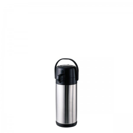 Service Ideas SECA19S Eco Air Stainless-Lined Pump Lid Airpot, 1.9 Liter