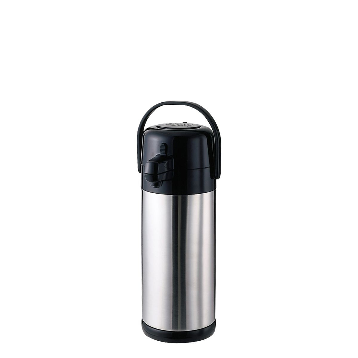Service Ideas SECA25S Economy Stainless Steel Pump Lid Airpot, 2.5 Liter