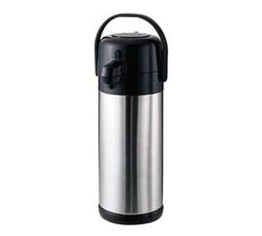 Service Ideas SECAL30SS Eco Air Stainless-Lined Lever Lid Airpot, 3 Liter