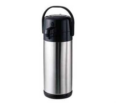Service Ideas SECAL30SS Economy Stainless Steel Lever Lid Airpot, 3 Liter