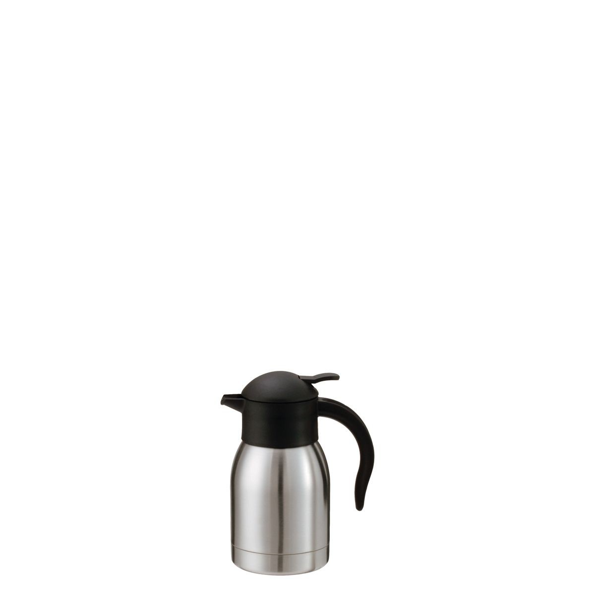 Service Ideas Sj60ss Steelvac Stainless Vacuum Carafe With Push On Lid 0 6 Liter