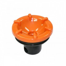 Service Ideas SJBTLOR Decaf Brew and Pour Lid for SJB60SS, SJB100SS, SJB20SS Carafes