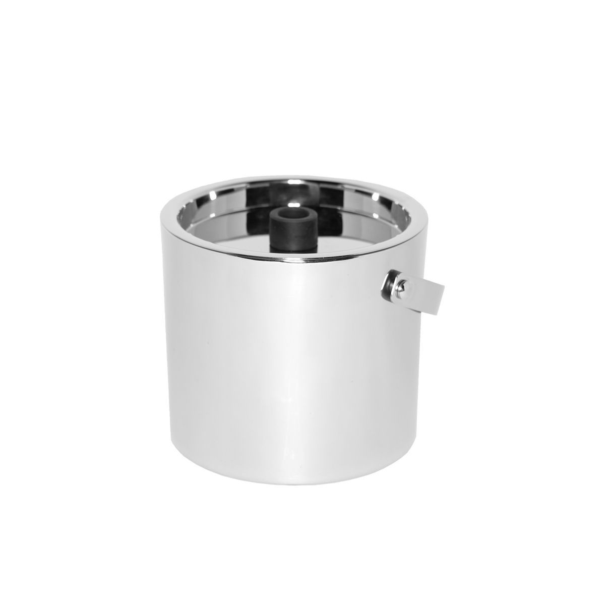 Service Ideas SM-1 SteelForme Double Wall Insulation Ice Bucket, 2.4 Qt.,
