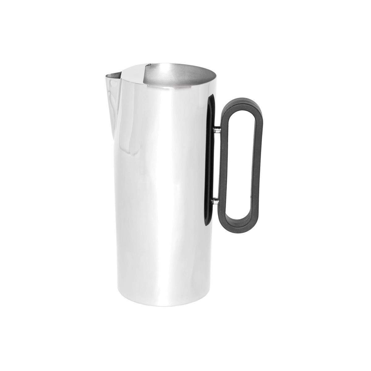 Service Ideas SM-23 SteelForme Stainless Steel Water Pitcher with Ice Guard, 64 oz.