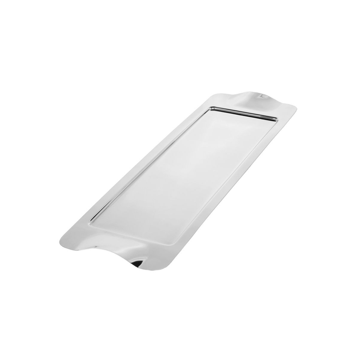 "Service Ideas SM-41 SteelForme Stainless Steel Rectangle Tray, 20"" x 6"""