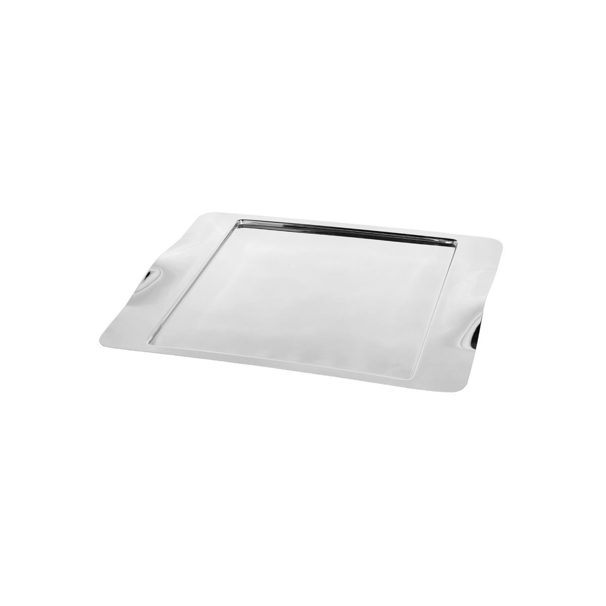 "Service Ideas SM-43 Rectangular Tray with Contoured Handles, 16"" x 13"""