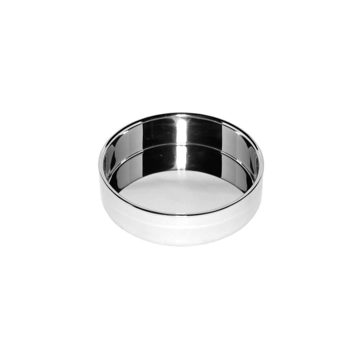 Service Ideas SM-44 SteelForme Stainless Steel Serving Bowl, 12 oz.