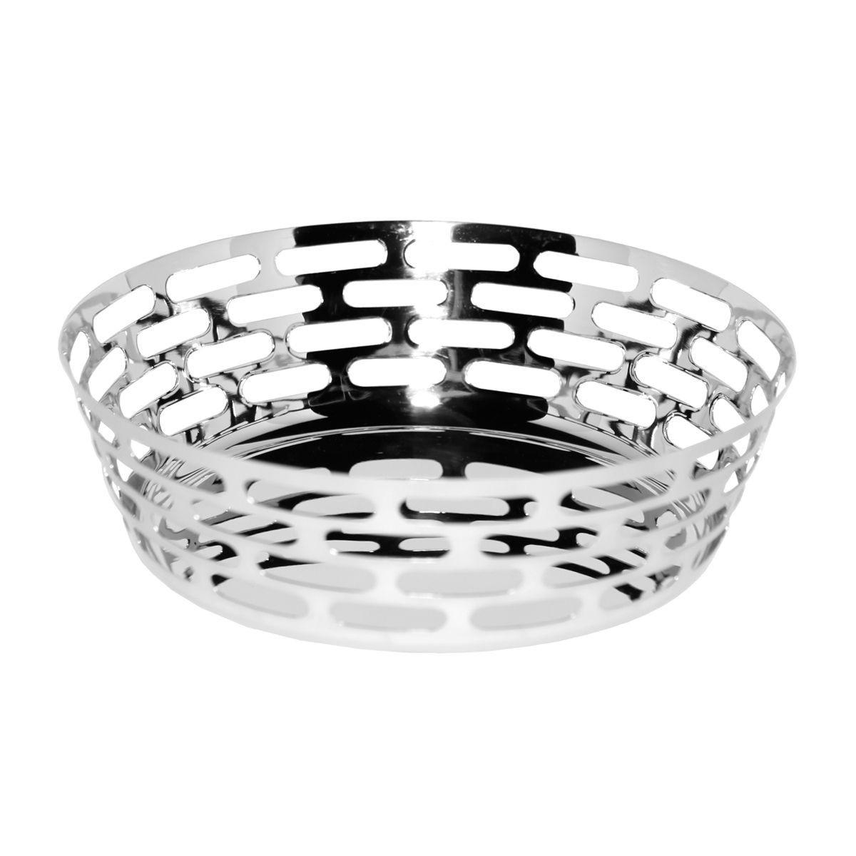 Service Ideas SM-63 SteelForme Round Fruit Bowl, 12""