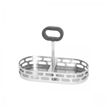 Service Ideas SM-74 Mod18 Steelworks Cream and Sugar Caddy Only