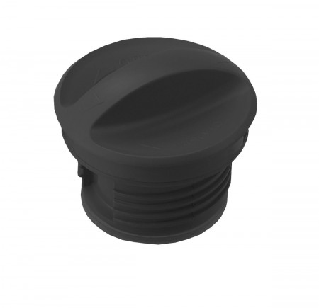 Service Ideas SSNLID SteelVac Vacuum Carafe Replacement Lid, Black