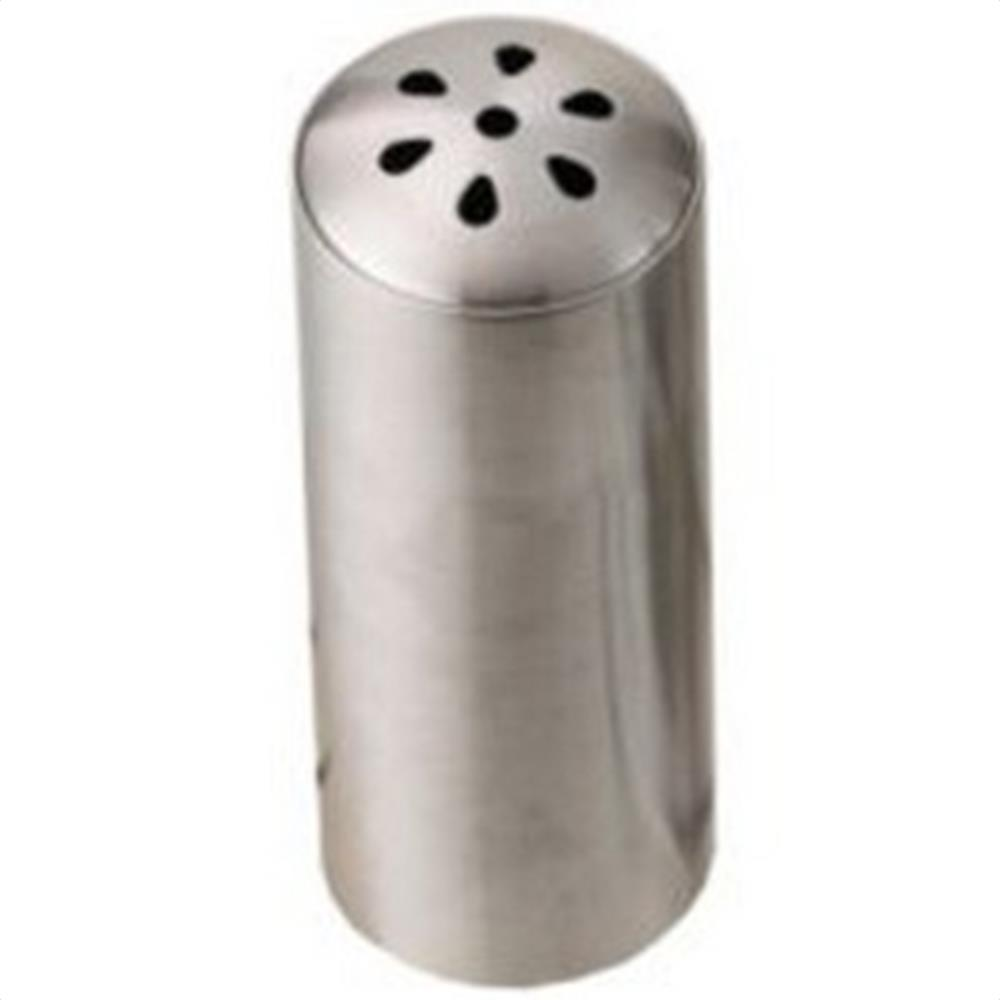 Service Ideas STCTEAR Stainless Steel Condiment Shaker with Tear-Drop Top