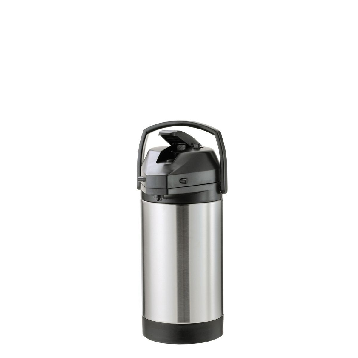 Service Ideas SVAP25L Economy Airpot with Interchangeable Lever Lid, Stainless 2.5 Liter