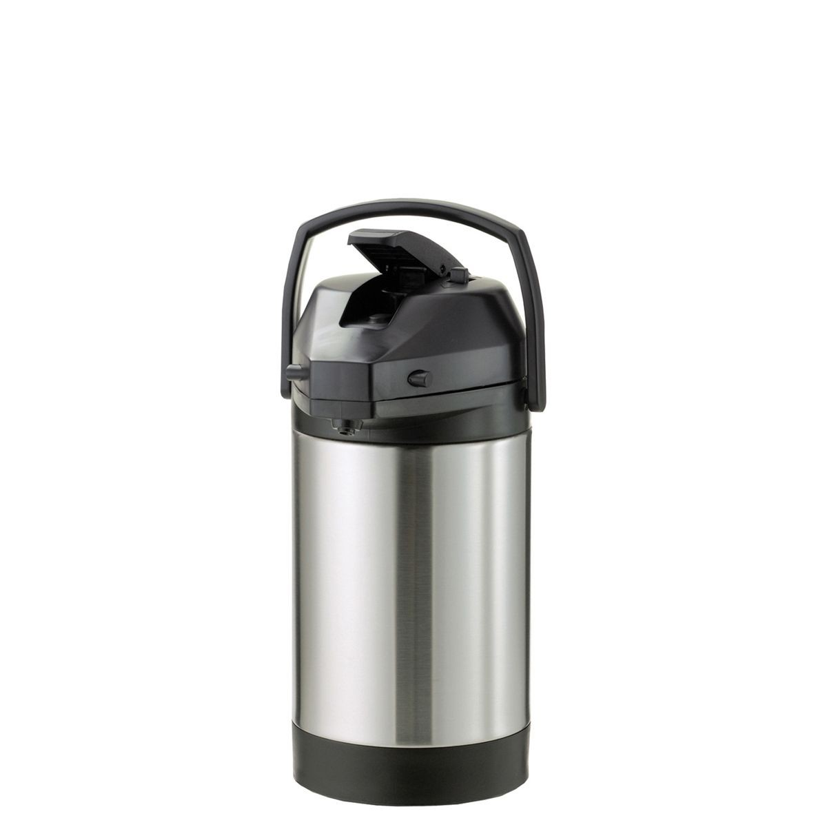 Service Ideas SVAP30L Economy Airpot with Interchangeable Lever Lid, Stainless 3 Liter